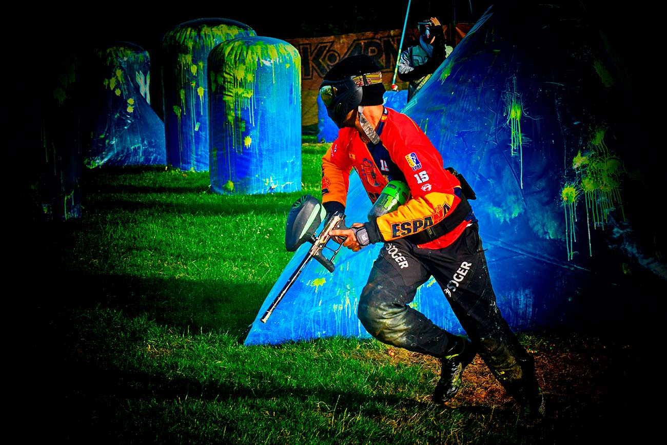 MONTA TU PROPIO CAMPO DE PAINTBALL. paintball field